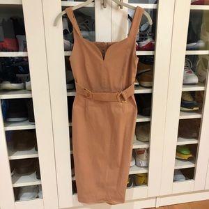 ASOS Vesper plunge sweetheart pencil dress